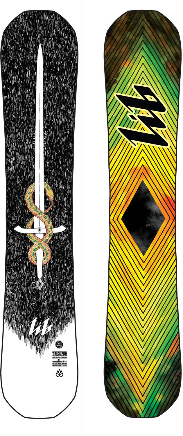 Travis Rice Pro Snowboard top and bottom view