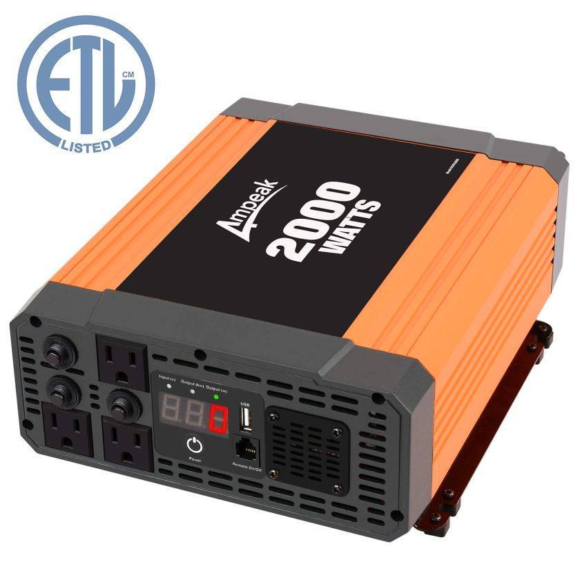 Ampeak 2000W Power Inverter
