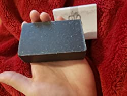 Activated Charcoal Soap Bars With Dead Sea Mud - For Acne, Psoriasis & Eczema. All Natural Face Soap & Body Soap. Made With Goat Milk & Peppermint Essential Oil. (3 BARS 4 oz EACH) Customer Image 2