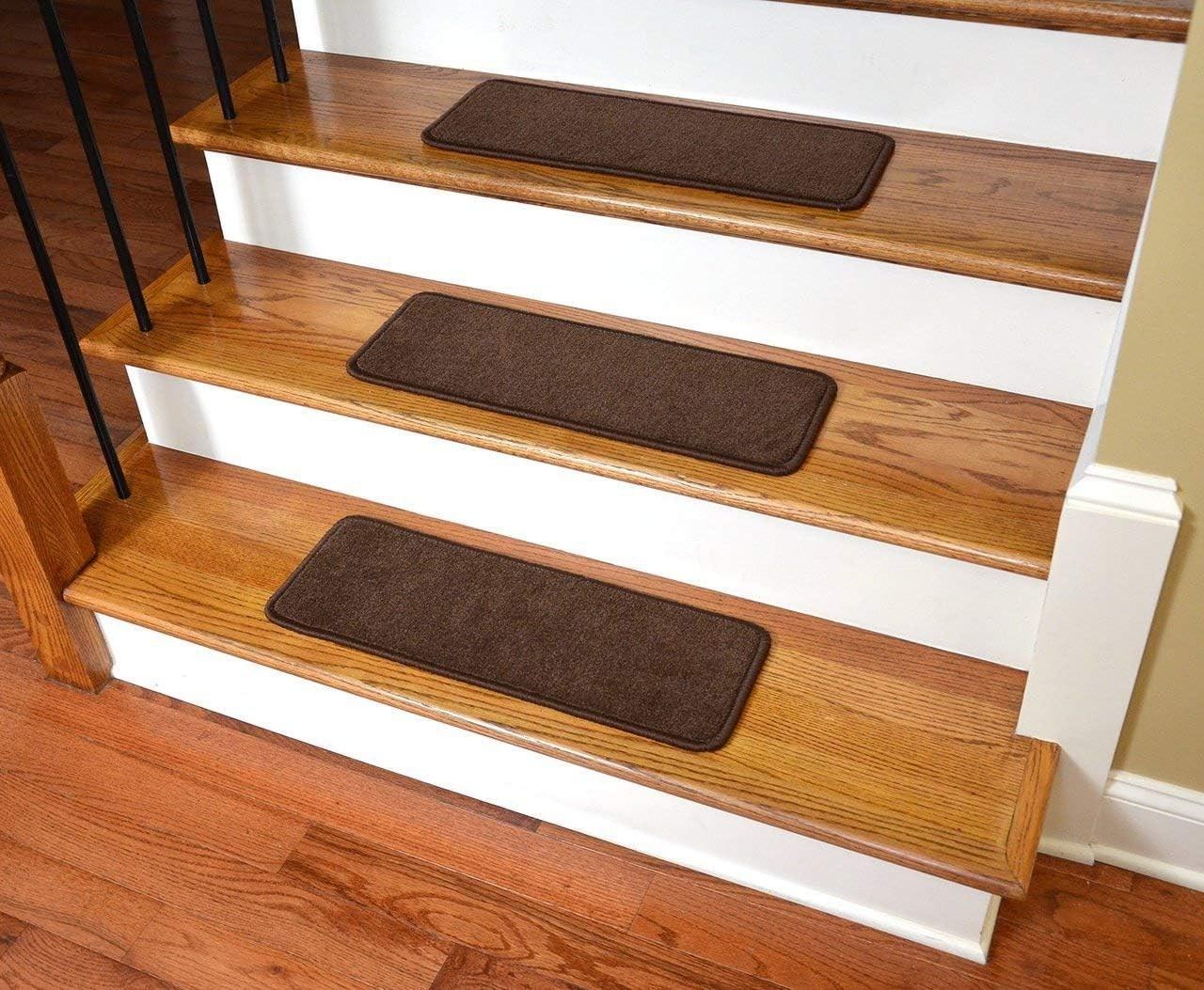 Amazon Com Dean Premium Stair Gripper Non Slip Tape Free Pet | Nylon Carpet For Stairs | Berber Carpet | Non Slip | Tread Covers | Rug | Stairway