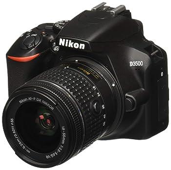 Nikon D3500 W/AF-P DX Nikkor 18-55mm f/3.5-5.6G VR