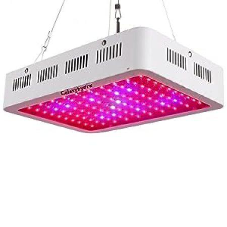 Galaxyhydro LED Grow Light,300W Indoor Plant Grow Lights Full Spectrum