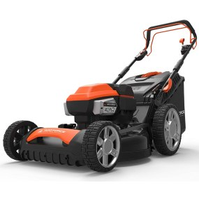 best rated self-propelled lawn mower - Yard Force