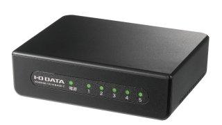 I-O DATA ネットワークハブ/LANハブ/スイッチングハブ 100BASE-TX/5ポート/省電力 ETX-ESH05KB