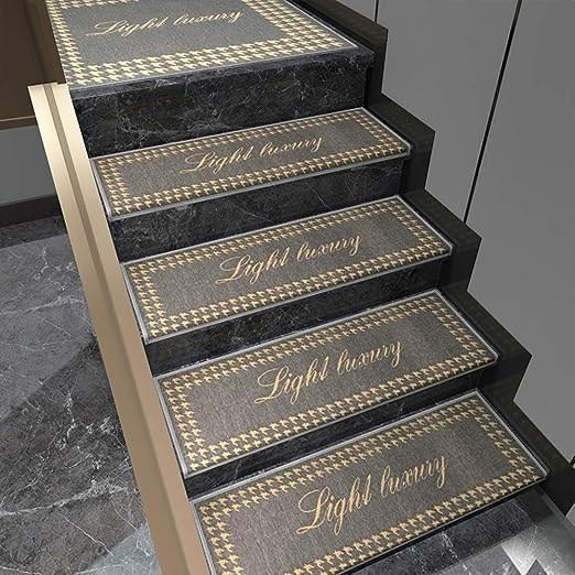 Amazon Com 5Pcs Stair Mats Carpet Non Slip Removable Stair Tread   Amazon Outdoor Stair Treads   Non Slip   Self Adhesive   Mat   Treads Carpet   Indoor Outdoor