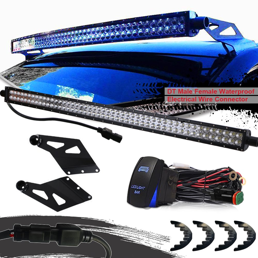 6 Best Truck Light Bar Using Led Technology Nov2018 Top Picks Wiring Guide Dodge P U Turbosii Dot 50 Inch Spot Flood Combo 288w Offroad Driving