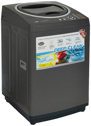 IFB 6.5 kg Fully-Automatic Top Loading Washing Machine Under 20000 (TL-RCG/RCSG Aqua, Graphite Grey, Aqua Energie water softener)