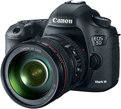 Amazon.com : Canon EOS 5D Mark III 22.3 MP Full Frame CMOS Digital SLR  Camera with EF 24-105mm f/4 L IS USM Lens : Camera & Photography