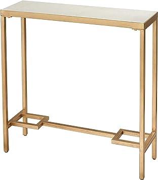 Amazon Com Sterling Home Equus Small Console Table Gold Furniture Decor