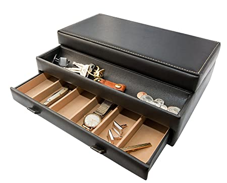 Luxury-Men's-Dresser-Valet-Organizer-From-Stock-Your-Home-Reviews