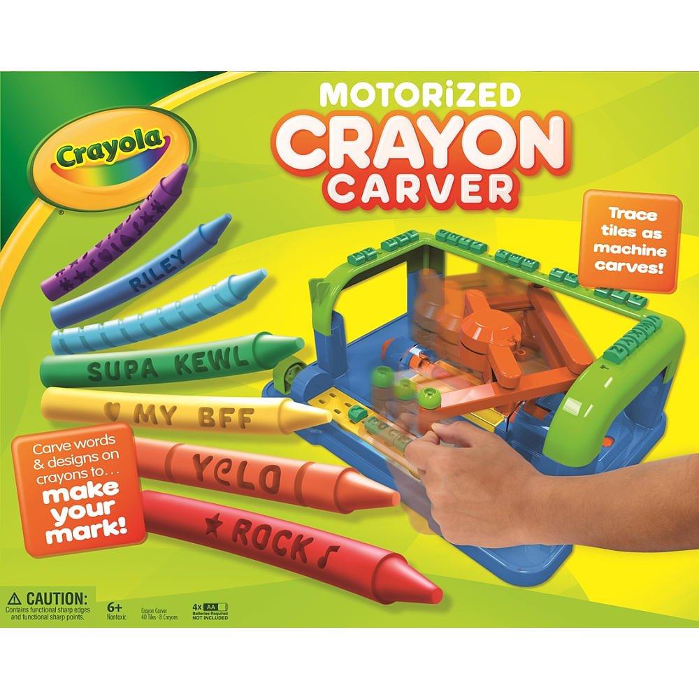 Crayola Motorized Crayon Carver-