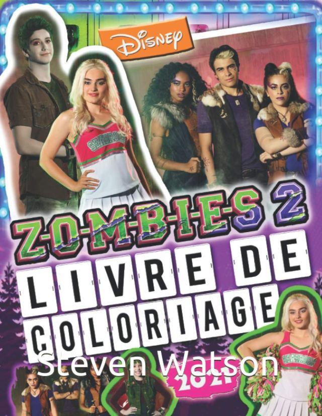 Amazon.co.jp: ZOMBIES 11 Livre De Coloriage: Z-O-M-B-I-E-S 11 110110