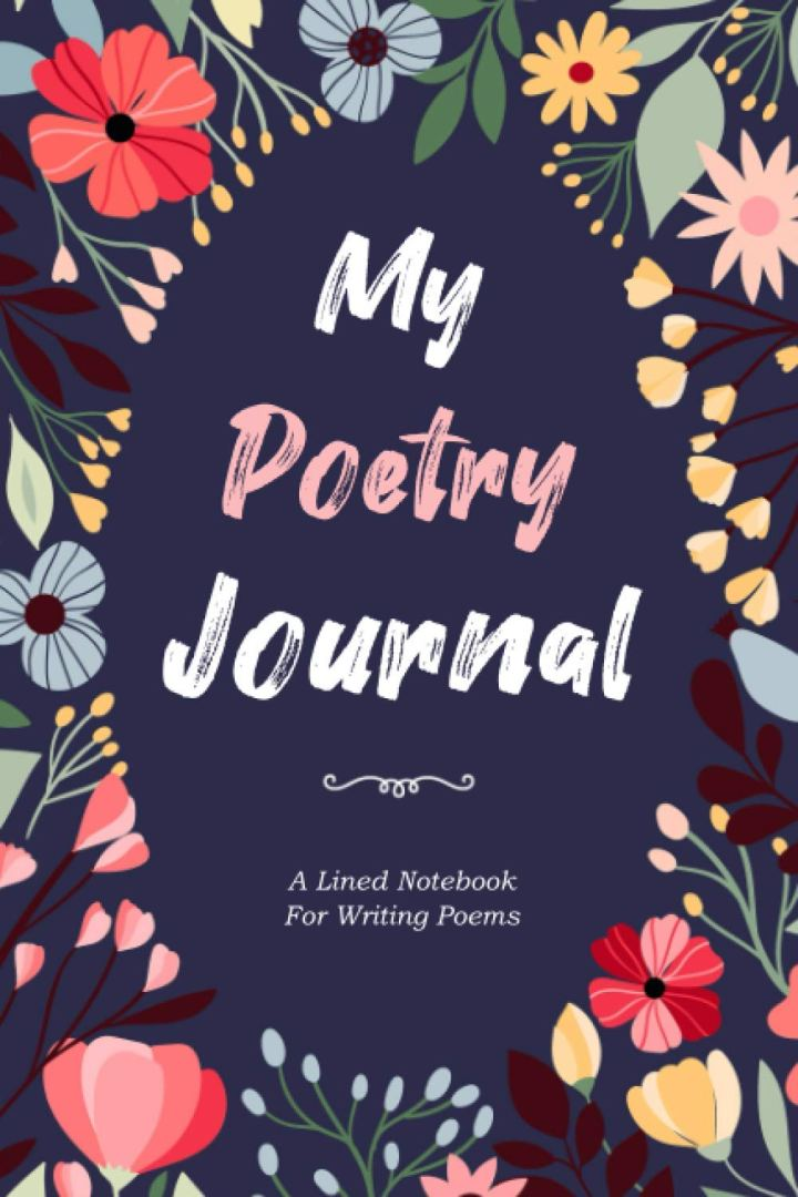 My Poetry Journal: A Lined Notebook With Prompts for Writing Poems:  Publishing, Pretty Nifty: 9798592509070: Amazon.com: Books