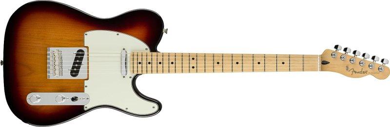 Fender Player Telecaster Electric Guitar - Maple Fingerboard - 3 Color Sunburst