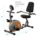 MARCY RECUMBENT EXERCISE BIKE