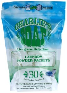 Charlie's Soap - Eco Friendly Laundry Packets - 30 count