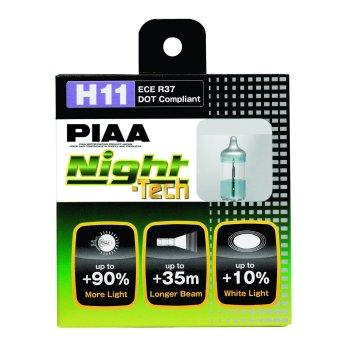 PIAA 10711 Night Tech High Performance Halogen Bulb