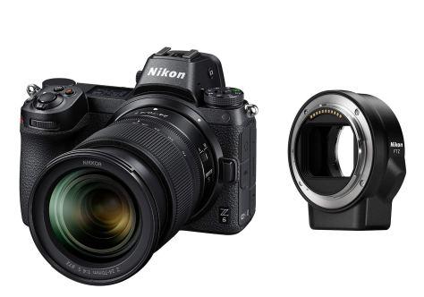 Nikon ミラーレス一眼 ニコン Z6 24-70+FTZマウントアダプターキット Z6LK24-70FTZKIT