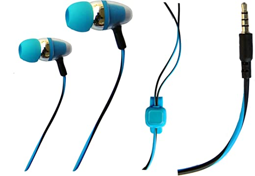 Ionix Model Hands-Free, Earphones with Microphone, Earphone with Mic for Android Mobiles Universal Type, Deep Base Sound Output (Colour May Vary) (Universal Android Handfree)