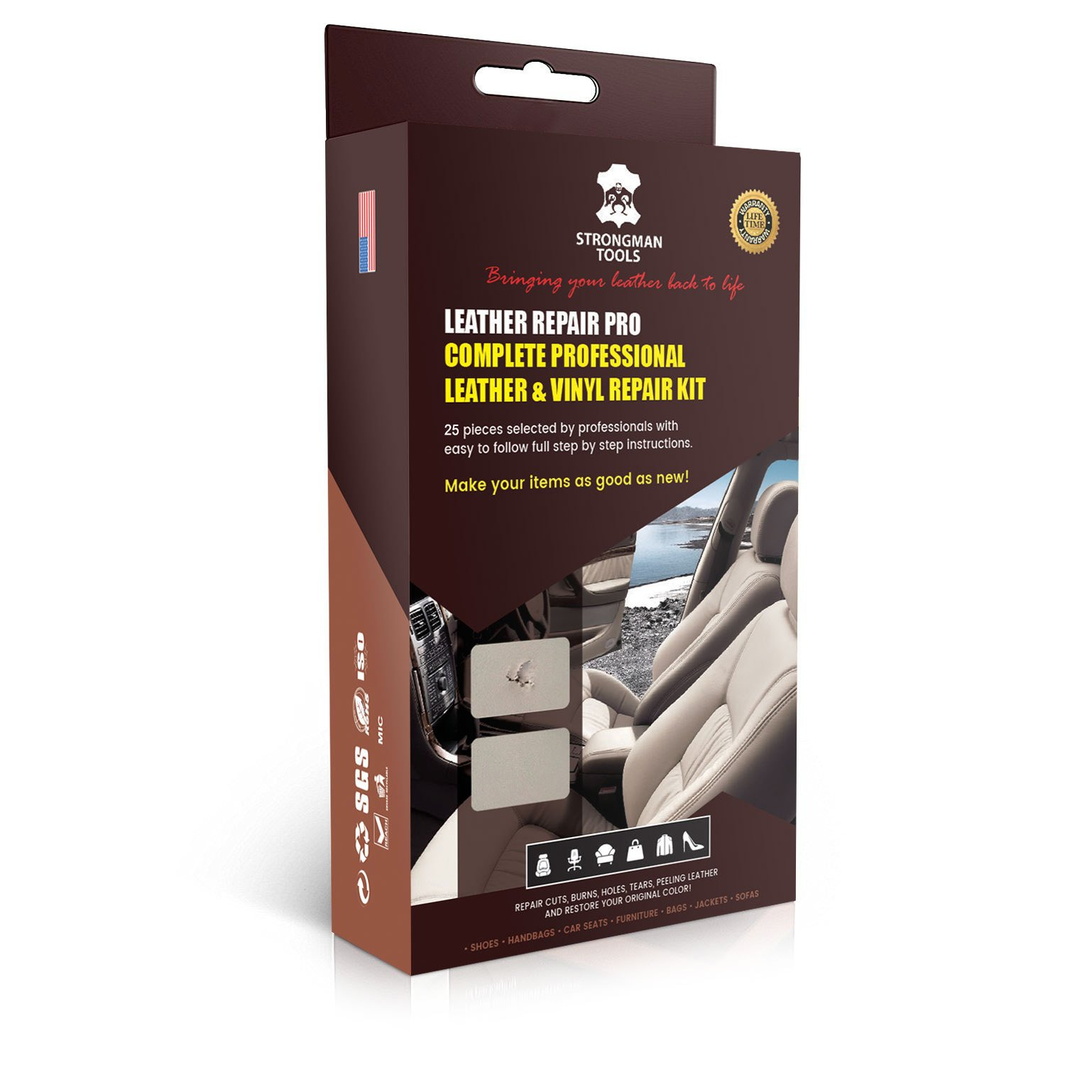 Top 10 Best Leather Repair Kit Guide And Reviews In 2019