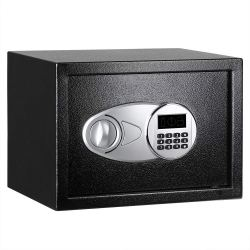 Hide your passport in a small safe