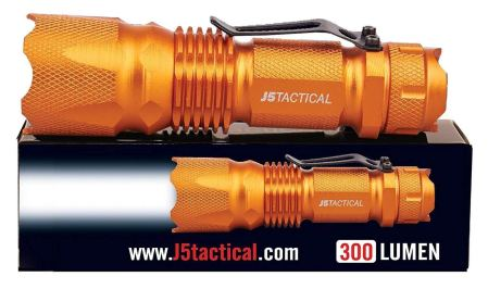 J5 Tactical V1-PRO Flashlight Review