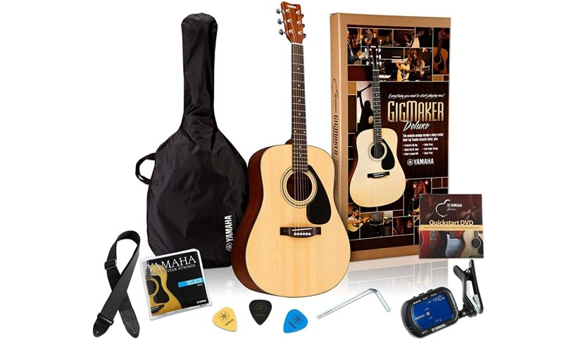 Yamaha Gigmaker Deluxe Acoustic Guitar Package Review