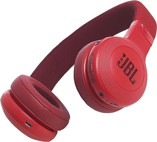 JBL E45BT Signature Sound Wireless On-Ear Headphones with Mic (Black)