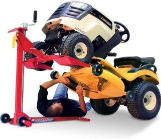 best riding lawn mower lift - MoJack EZ Max