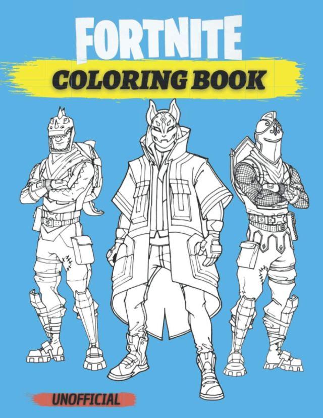 Fortnite Coloring Book: 26 Drawings Of Fortnite Battle Royale