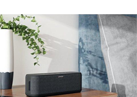 Anker SoundCore Boost (20W Bluetooth4.2 スピーカー スタイリッシュデザイン)【迫力ある低音 / IPX5防水規格 / モバイルバッテリー機能搭載】 A3145011