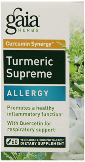 Turmeric Supreme Allergy Gaia Herbs
