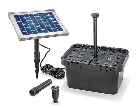Gruppo Filtro Per Stagno A Modulo Solare Avviatore 470 Lh