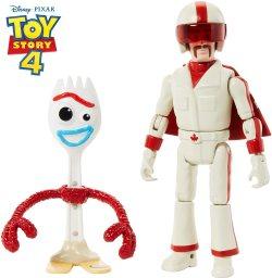 Toy Story 4 Figura Básica Forky con Duke Caboom