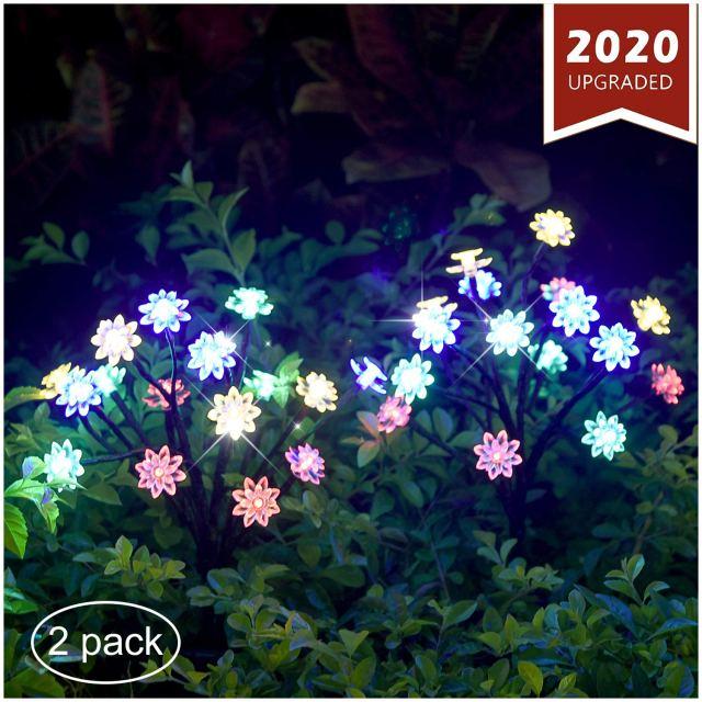 Solar Powered Landscape Lights