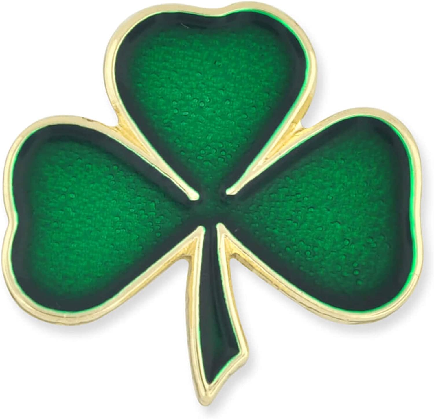 Amazon Com Pinmart Lucky Green Shamrock 3 Leaf Clover St Patrick S Day Enamel Lapel Pin Jewelry
