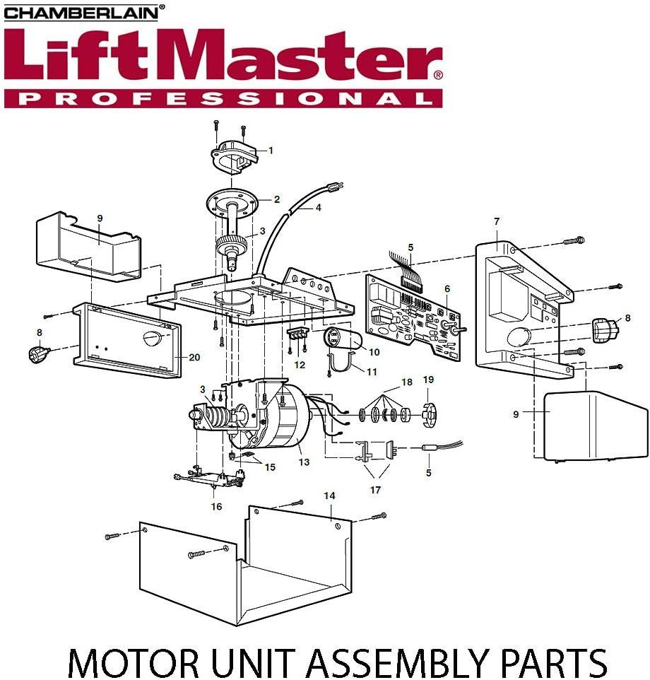 Liftmaster 41a4371 Belt Cover Cap Retainer Garage Door Opener Chamberlain Craftsman Garage Door Hardware Amazon Com