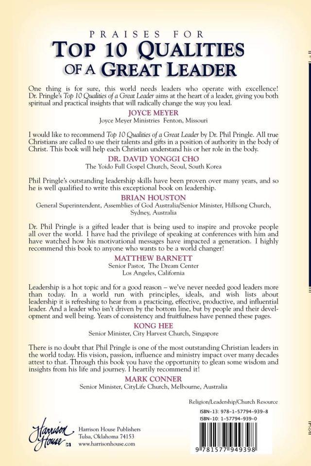 Top 26 Qualities of a Great Leader : Pringle, Phil: Amazon.de: Bücher
