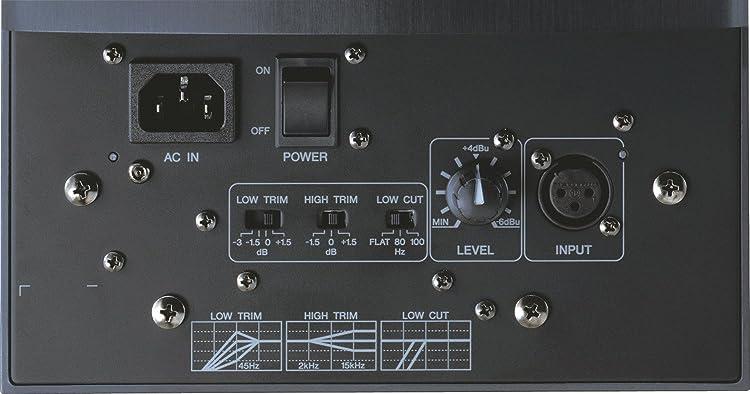 モニタースピーカーの接続端子