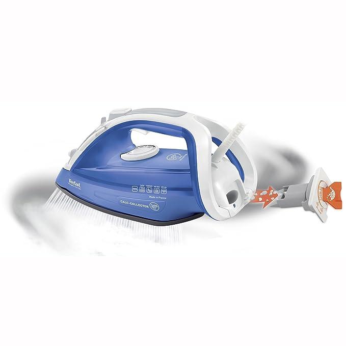Tefal Fv4944 Ultragliss Anticalcare Ferro A Vapore Raccoglitore Di Calcare Piastra Con Tecnologia Durilium 2500w Getto Di Vapore Di 150 G