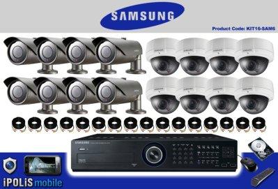 Vidéosurveillance Samsung 16 caméras