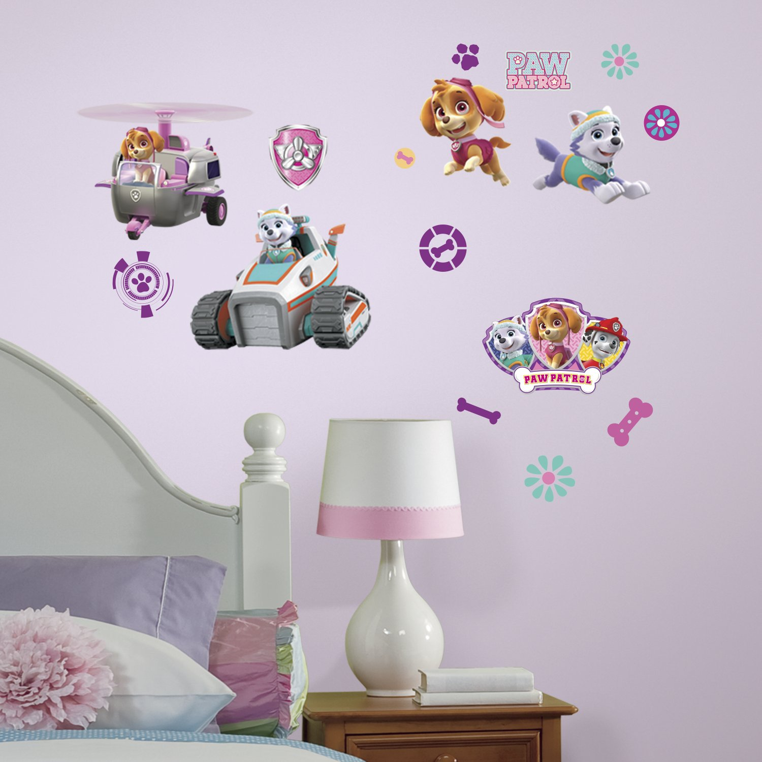 RoomMates Bubble Guppies Peel And Stick Wall Decals - Lovely