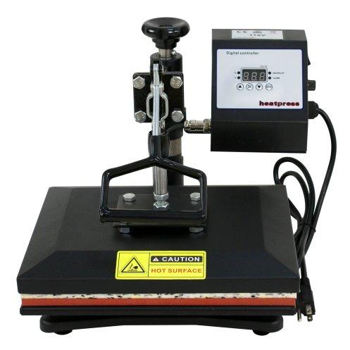 "Super Deal Digital Swing Away 12"" X 10"" Heat Press Clamshell Transfer Machine"