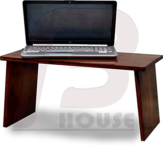 Bharat Furnish House-Work from Home Table | Solid Indian Sheesham Made Multi Utility Table|Console Hall Writing Table | Laptop Table 60×30×28cm-Natural Teak Finish