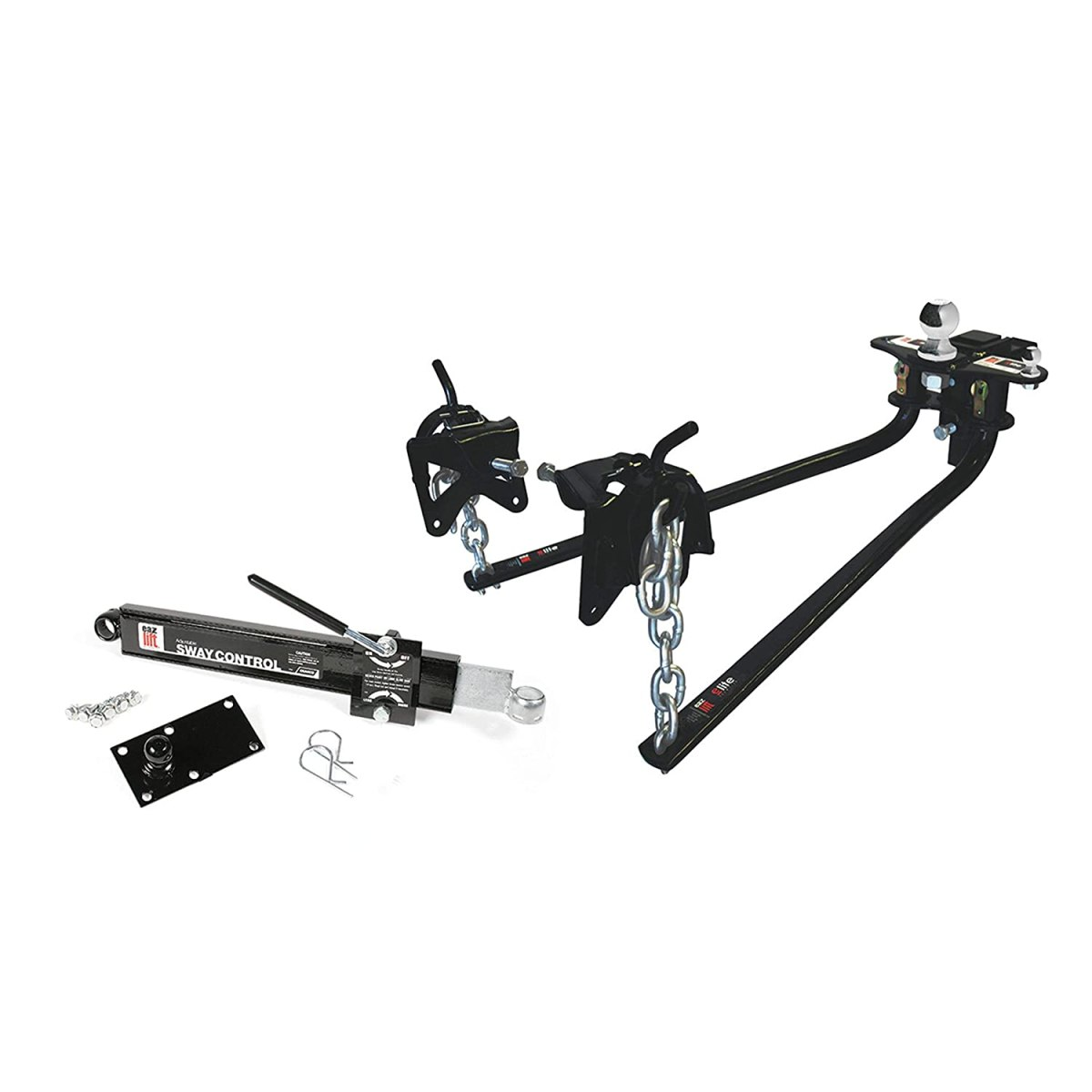 Best Weight Distribution Hitches EAZ LIFT 48069 1200 lbs Elite Kit Weight Distribution Hitch