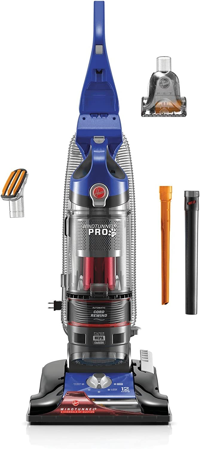 Amazon Com Hoover Windtunnel 3 Pro Pet Bagless Upright Vacuum Cleaner Uh70937 Home Kitchen