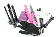 LUV 8 Piece Interchangeable Curler and Styling Iron