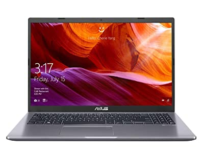 "ASUS VivoBook 15 X509 ( Core i3- 7th Gen/4 GB/PCIEG NVME 512GB SSD/ 15.6"" FHD/ Windows 10/FP/ Thin and Light) X509UA-EJ372T (Slate Gray /1.9kg) by Asus"