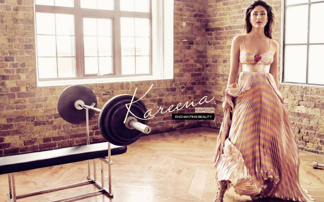 Kareena kapoor enchanting beauty poster