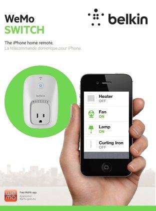 WeMo Switch Interrupteur